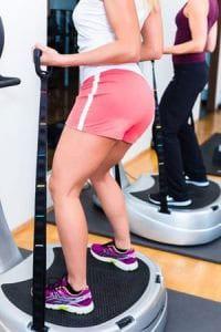 Fitness Training mit der Rüttelplatte